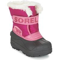 Schoenen Kinderen Snowboots Sorel CHILDRENS SNOW COMMANDER Roze
