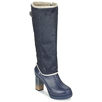 Schoenen Dames Hoge laarzen Sorel MEDINA IV PREMIUM  collegiate / Navy /  zwart