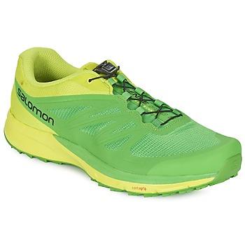 Schoenen Heren Running / trail Salomon SENSE PRO 2 Groen / Zwart