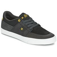 Schoenen Heren Lage sneakers DC Shoes WES KREMER Zwart / Grijs / Geel