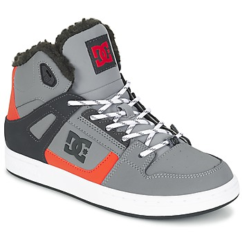 Schoenen Kinderen Hoge sneakers DC Shoes REBOUND WNT B SHOE XSKN Grijs / Zwart / Orange