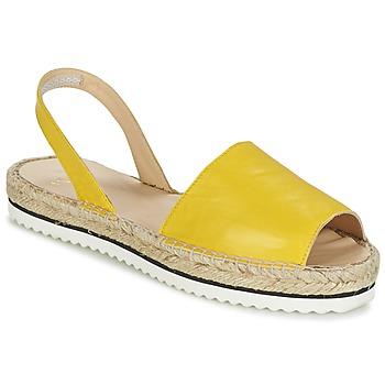 Schoenen Dames Sandalen / Open schoenen Anaki TEQUILAI Geel