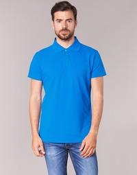 Textiel Heren Polo's korte mouwen BOTD EPOLARO Blauw