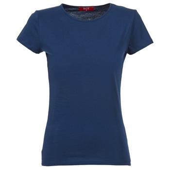 Textiel Dames T-shirts korte mouwen BOTD EQUATILA Marine
