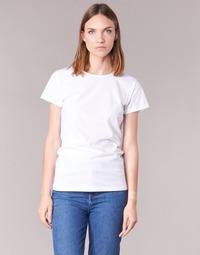 Textiel Dames T-shirts korte mouwen BOTD EQUATILA Wit