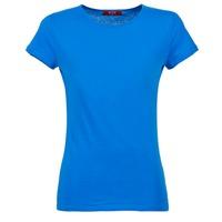 Textiel Dames T-shirts korte mouwen BOTD EQUATILA Blauw