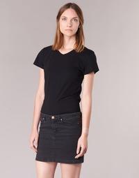 Textiel Dames T-shirts korte mouwen BOTD EFLOMU Zwart