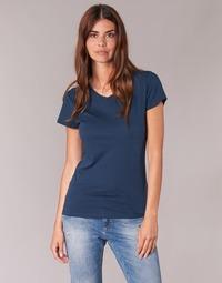 Textiel Dames T-shirts korte mouwen BOTD EFLOMU Marine