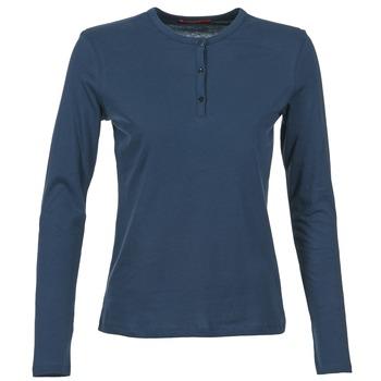 Textiel Dames T-shirts met lange mouwen BOTD EBISCOL Marine