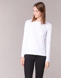 Textiel Dames T-shirts met lange mouwen BOTD EBISCOL Wit
