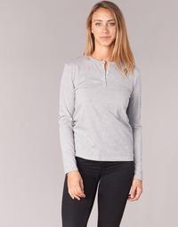 Textiel Dames T-shirts met lange mouwen BOTD EBISCOL Grijs