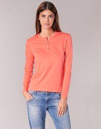 Textiel Dames T-shirts met lange mouwen BOTD EBISCOL Orange