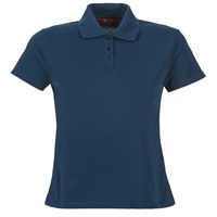 Textiel Dames Polo's korte mouwen BOTD ECLOVERA Marine