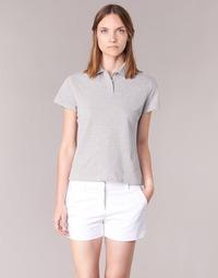 Textiel Dames Polo's korte mouwen BOTD ECLOVERA Grijs / Chiné