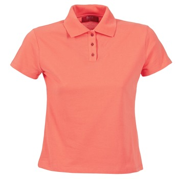 Textiel Dames Polo's korte mouwen BOTD ECLOVERA Orange