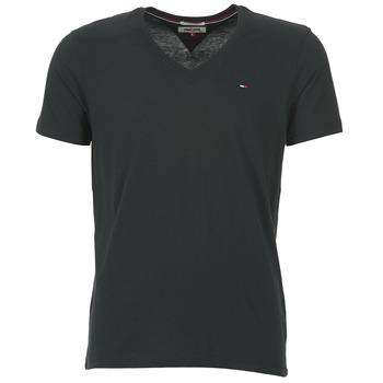Textiel Heren T-shirts korte mouwen Tommy Jeans MALATO Zwart