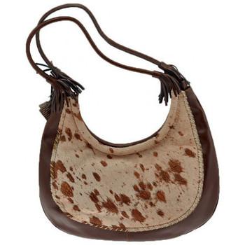 Tassen Dames Handtassen lang hengsel Burglar  Brown