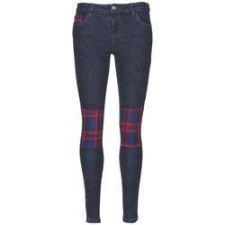 Textiel Dames Skinny jeans American Retro LOU Blauw