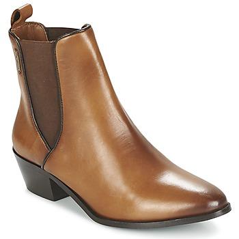 Schoenen Dames Enkellaarzen Pepe jeans DINA Brown