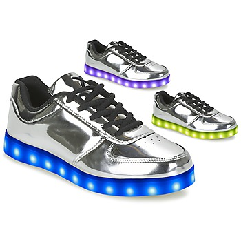Schoenen Dames Lage sneakers Wize & Ope THE LIGHT Zilver
