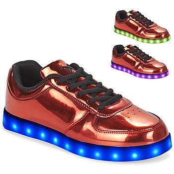 Schoenen Dames Lage sneakers Wize & Ope POP Rood