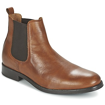 Schoenen Heren Laarzen Selected SHDOLIVER CHELSEA BOOT NOOS COGNAC