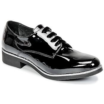 Schoenen Dames Derby Myma PIKA Zwart