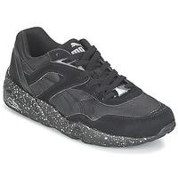 Schoenen Heren Lage sneakers Puma R698 SPECKLE V2 Zwart / Zilver
