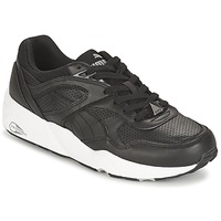 Schoenen Heren Lage sneakers Puma R698 CORE LEATHER Zwart