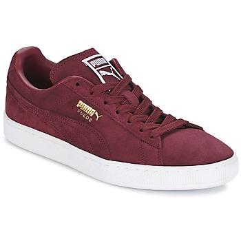 Schoenen Lage sneakers Puma SUEDE CLASSIC + Bordeaux