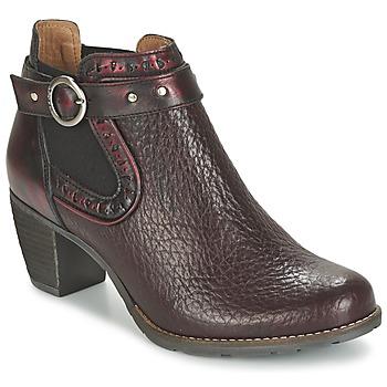 Schoenen Dames Low boots Dkode CLOA Bordeaux