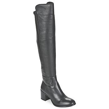 Schoenen Dames Hoge laarzen Unisa FARIA Zwart