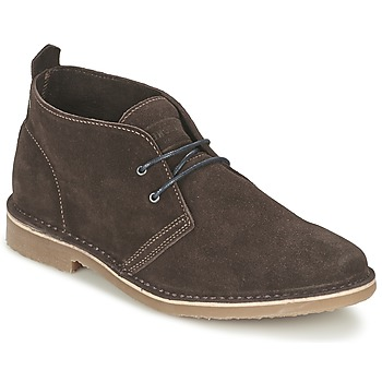 Schoenen Heren Laarzen Jack & Jones GOBI SUEDE DESERT BOOT Brown