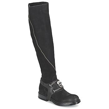 Schoenen Dames Hoge laarzen Now CALOPORO Zwart