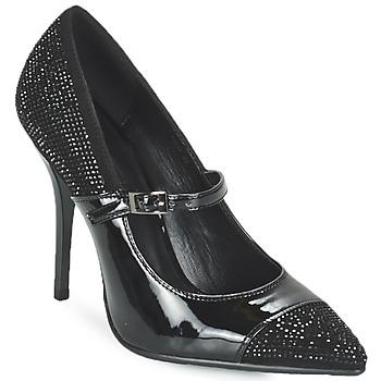 Schoenen Dames pumps Luciano Barachini POUL Zwart