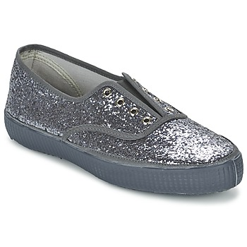 Schoenen Dames Lage sneakers Chipie JOSS GLITTER Antraciet