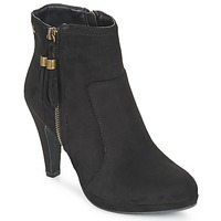 Schoenen Dames Enkellaarzen Refresh MINU Zwart