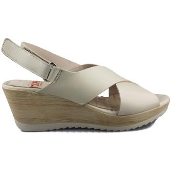 Schoenen Dames Sandalen / Open schoenen Mikaela NAPPA BEIGE