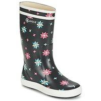 Schoenen Kinderen Regenlaarzen Aigle LOLLY POP GLITTERY Marine / Multicolour