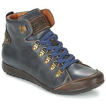 Schoenen Dames Hoge sneakers Pikolinos LISBOA W67 Marine