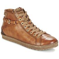 Schoenen Dames Hoge sneakers Pikolinos LAGOS 901 Cognac