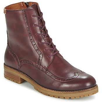 Schoenen Dames Laarzen Pikolinos SANTANDER W4J Brown