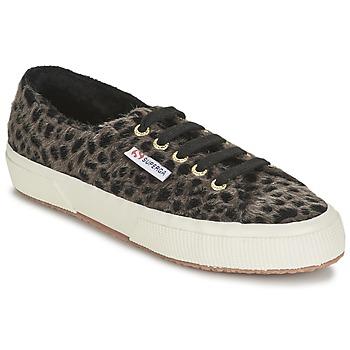 Schoenen Dames Lage sneakers Superga 2750 LEOPARDHORSEW Leopard