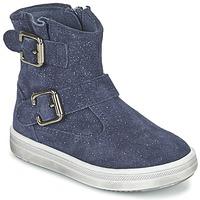 Schoenen Meisjes Laarzen Acebo's MOULLY Blauw