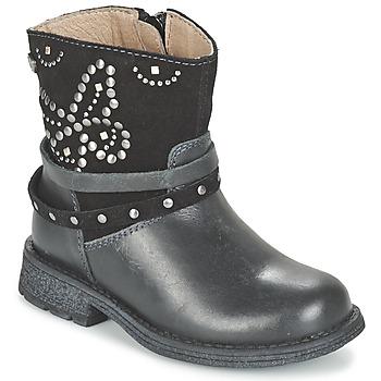 Schoenen Meisjes Laarzen Garvalin GENILA Zwart