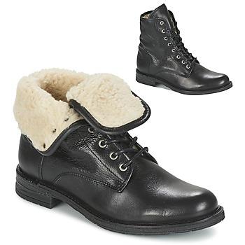 Schoenen Dames Laarzen Mustang SABORA Zwart