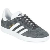 Schoenen Lage sneakers adidas Originals GAZELLE Grijs / Donker