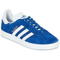 Schoenen Lage sneakers adidas Originals GAZELLE Blauw