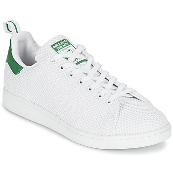 Schoenen Lage sneakers adidas Originals STAN SMITH CK Wit / Groen