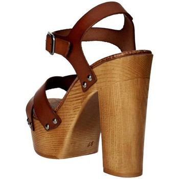 Schoenen Dames Sandalen / Open schoenen Tdl Collection 3098294 Brown leather